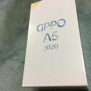 ANDROID - OPPO A5 2020 新品未使用 未開封 SIMフリー