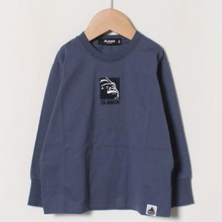 XLARGE - XLARGE KIDS キイロ140cm OGゴリラフェイス刺しゅうTシャツ