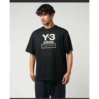 Y-3 - 新品 2019AW Y3 ワイスリー ロゴ Tシャツ 黒M