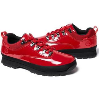 シュプリーム(Supreme)のSupreme/Timberland Euo Hiker Low 28  Red(ブーツ)