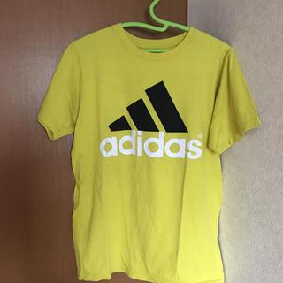 アディダス(adidas)のadidas アディダス イエローtシャツ(Tシャツ/カットソー(半袖/袖なし))