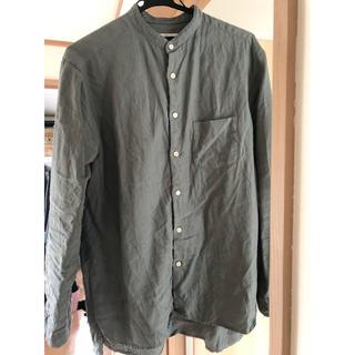 ネストローブ(nest Robe)のネストローブ confect バンドカラーシャツ サイズ4(シャツ)