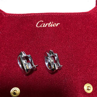 カルティエ(Cartier)の❤️カルティエ ペネロープ ピアス ❤️売り切り価格✨お値下げ(ピアス)