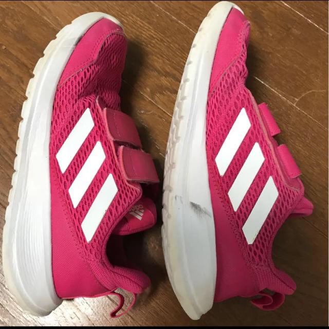 adidas(アディダス)のアディダススニーカー20センチ キッズ/ベビー/マタニティのキッズ靴/シューズ(15cm~)(スニーカー)の商品写真