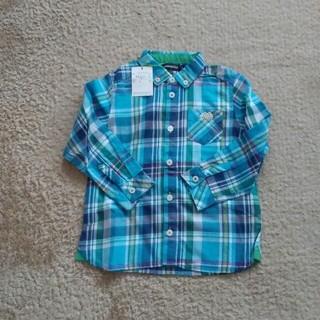 クレードスコープ(kladskap)の未使用タグ付き⭐クレードスコープ チェックシャツ 110(Tシャツ/カットソー)