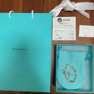 Tiffany & Co. - 【極美品・付属品完備】TAFFANY&Co.  ハードウェア ブレスレット