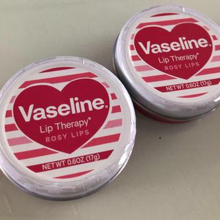 ユニリーバ(Unilever)のヴァセリン リップロージーハート17g  2個(リップケア/リップクリーム)