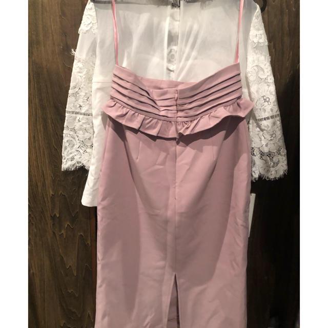JEWELS(ジュエルズ)の2ピースの袖ありドレス レディースのフォーマル/ドレス(ミディアムドレス)の商品写真
