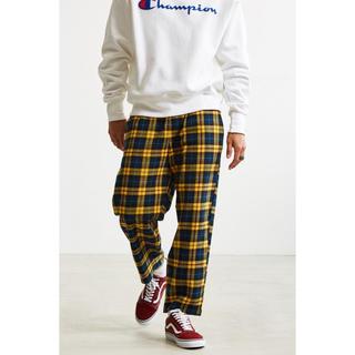アーバンアウトフィッターズ(Urban Outfitters)のUrban Outfitters フランネル チェック イージーパンツ パジャマ(その他)