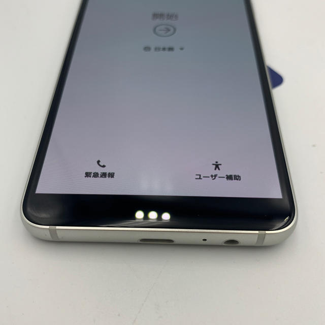 SAMSUNG(サムスン)の【無保証】SC-02L Galaxy Feel2 ホワイト 利用制限中 スマホ/家電/カメラのスマートフォン/携帯電話(スマートフォン本体)の商品写真