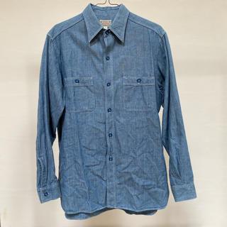 バズリクソンズ(Buzz Rickson's)の東洋エンタープライズBUZZ RICKSON'S ブルーシャンブレーワークシャツ(シャツ)