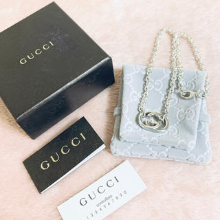 Gucci - 極美品✨GUCCI グッチ✨インターロッキング G ネックレス