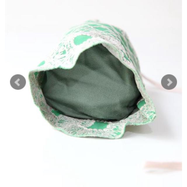 mina perhonen(ミナペルホネン)のミナペルホネン  アナナス ananas 巾着 ポーチ ポシェット レディースのバッグ(ショルダーバッグ)の商品写真