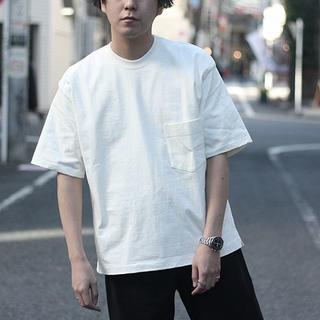 COMOLI - AURALEE スタンドアップTシャツ 18SS