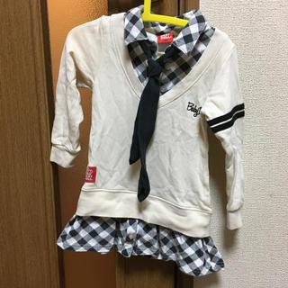 ベビードール(BABYDOLL)のベビド 女子高生風 制服風 ネクタイ 100(ワンピース)