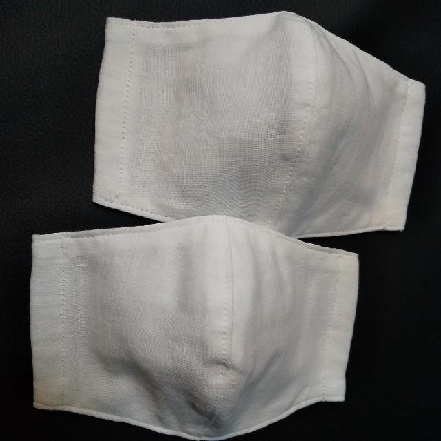 インナーマスク 立体 大人用(小さめ) 2枚セットの通販