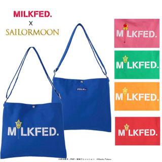 ミルクフェド(MILKFED.)の新品 MILKFED. セーラームーン コラボ サコッシュ ショルダーバッグ (ショルダーバッグ)