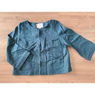 クチュールブローチ(Couture Brooch)のクチュールブローチ❁リボン付き❁ジャケット(ノーカラージャケット)