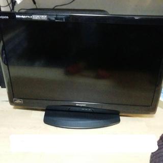 アクオス(AQUOS)の液晶テレビ SHARP AQUOS 32型 引取or東京付近直接配達のみ(テレビ)