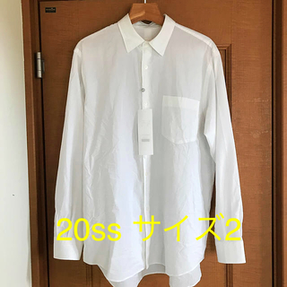 COMOLI - COMOLI コモリシャツ サイズ2 20ss 新品未使用 即完売品