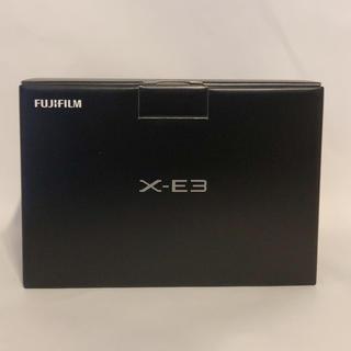 富士フイルム - 富士フィルム X-E3-S ミラーレス一眼カメラ シルバー [ボディ単体]