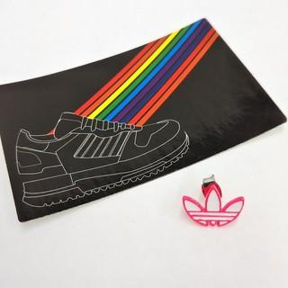 adidas - アディダス ステッカー ピアス ピンク