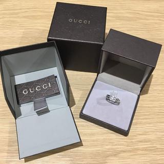 グッチ(Gucci)のグッチ K18 リング 箱付き(92018636)(リング(指輪))