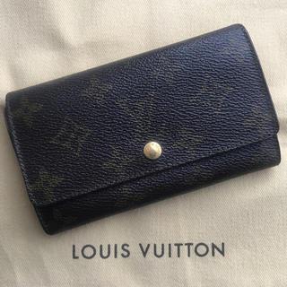 LOUIS VUITTON - LOUISVUITTON ルイヴィトンモノグラムキャンバスミニ財布 24