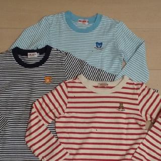 mikihouse - ミキハウスmikihouse 長袖Tシャツ 110㎝ 3枚セット