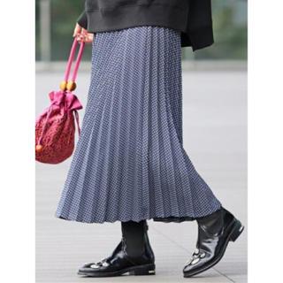 Ray BEAMS - Ray BEAMS☆カットチェックプリーツスカート