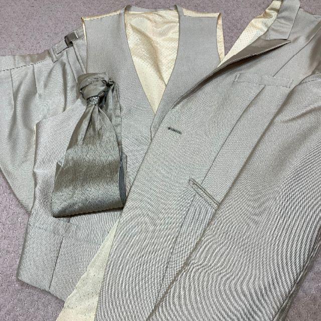 【美品】【人気】タキシード セット販売 メンズのスーツ(スーツジャケット)の商品写真