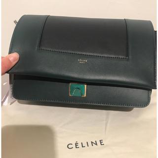 celine - 極美品 Celine セリーヌ フレームバッグ 保護袋カード付 ダークネイビー