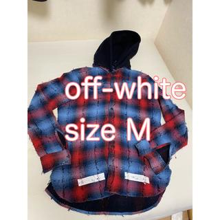 オフホワイト(OFF-WHITE)のOFF-WHITE(オフホワイト)17AW ブラッシュドバックアロー(シャツ)