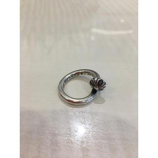 Chrome Hearts - クロムハーツ ネイルリング クロスボール シルバー アクセ メンズ 指輪