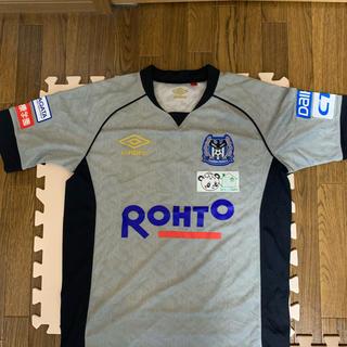 UMBRO - ガンバ大阪 選手支給品 トレーニングシャツ