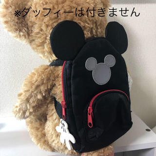 Disney - 【新品✴︎未使用】ポーチ 定期入れ ミッキーシェイプ ぬいぐるみサイズ リュック