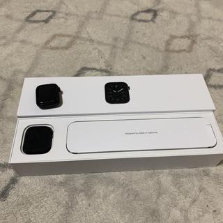 アップルウォッチ(Apple Watch)のApple Watch Series5 Edition スペースブラック40mm(腕時計(デジタル))