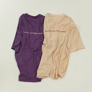 TODAYFUL - TODAYFUL Back Print T-Shirts Tシャツ