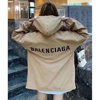 Balenciaga - Balenciaga ボクシー ウィンドブレーカー コート