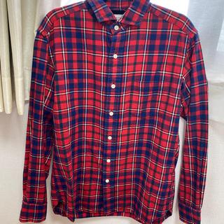 ユナイテッドアローズ(UNITED ARROWS)のユナイテッドアローズ チェックシャツ 赤(シャツ)