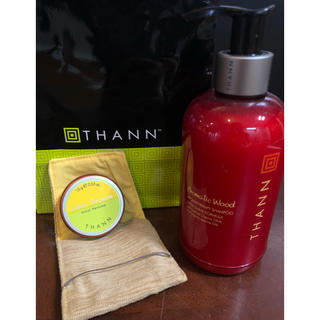 タン(THANN)の●wescoo様専用●THANN シャンプー 練り香水  未使用品(シャンプー)