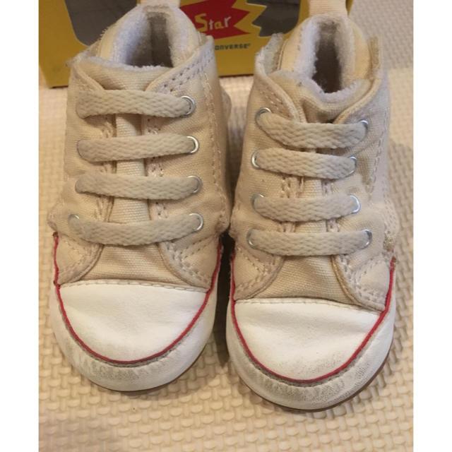 CONVERSE(コンバース)の専用です。converse オールスター 11cm  キッズ/ベビー/マタニティのベビー靴/シューズ(~14cm)(スニーカー)の商品写真