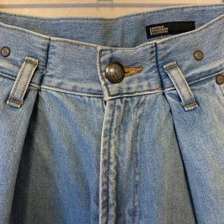 ダブルスタンダードクロージング(DOUBLE STANDARD CLOTHING)のダブルスターダードクロージング ダブスタ タックワイドパンツ(デニム/ジーンズ)