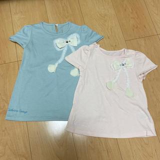 キャサリンコテージ(Catherine Cottage)の《姉妹向け お揃いセット》90,110 半袖トップス(Tシャツ/カットソー)