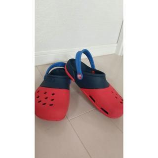 crocs - 【美品】クロックス キッズ サンダル J3 21cm