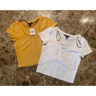 フォーエバートゥエンティーワン(FOREVER 21)のforever21⭐︎Tシャツ2枚セット(Tシャツ(半袖/袖なし))