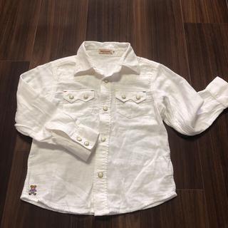 mikihouse - MIKIHOUSE 白シャツ 110サイズ