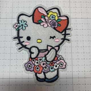 ハローキティ(ハローキティ)の③⑨キティちゃん大サイズ アイロンワッペン 刺繍アイロンワッペン(各種パーツ)