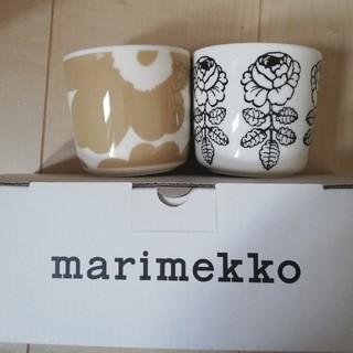 マリメッコ(marimekko)のマリメッコ ラテマグ(グラス/カップ)