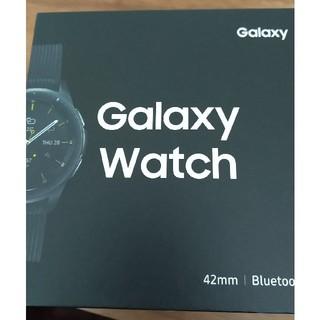 サムスン(SAMSUNG)のGalaxy Watch 42mm Midnight Black(腕時計(デジタル))